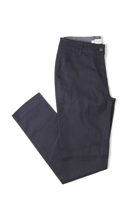 Bridge & Burn Market - Navy Linen