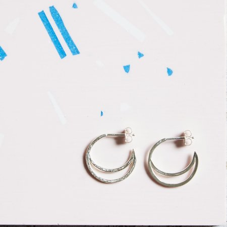 Kind Jewellery Crescent Lune Earrings