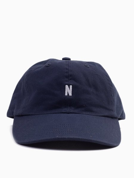 Norse Projects Light Twill Sports Cap Navy
