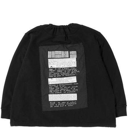 Brain Dead Mock Neck Sweater - Black