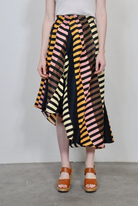 Apiece Apart Turkanna Asymmetric Skirt - Marjorelle