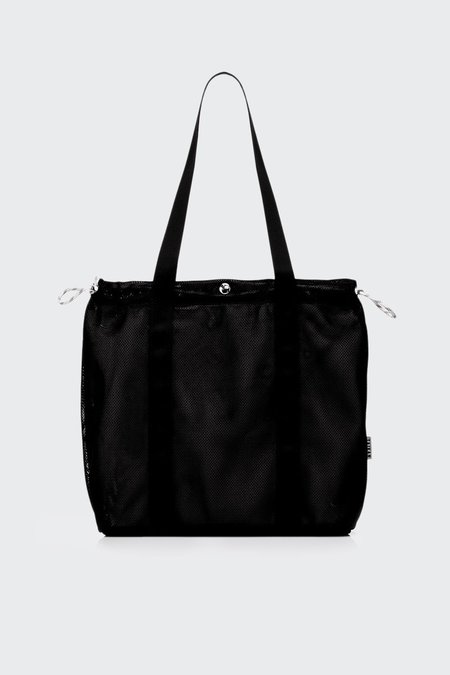 TAIKAN EVERYTHING Flanker Tote Bag - Black Mesh