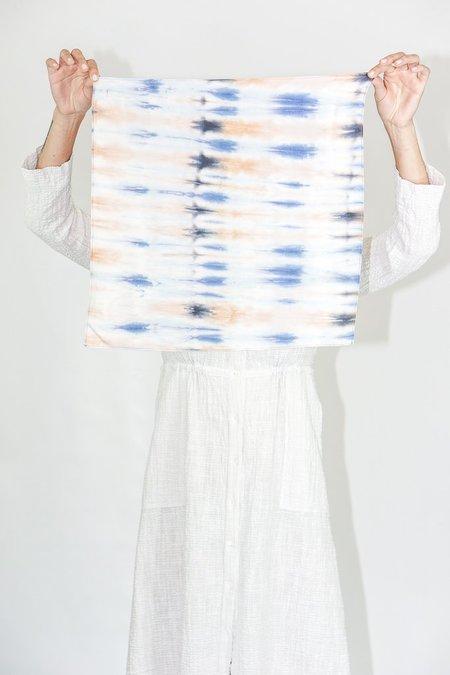Raquel Allegra Twill Neckercheif in Blue Tiger's Eye
