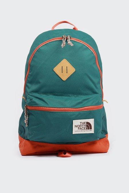 The North Face Berkeley Backpack - Jasper Green/Weathered Orange