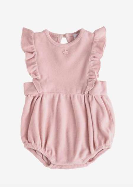 Kids Tocoto Vintage Pink Romper