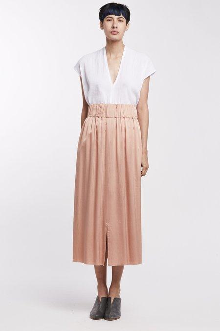 Miranda Bennett Silk Charmeuse Paper Bag Skirt - Bardot
