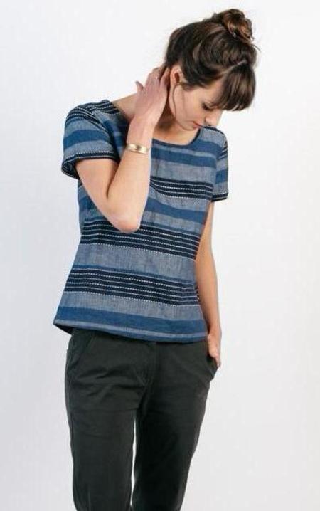 Bridge & Burn Joss Pacific Stripe Shirt