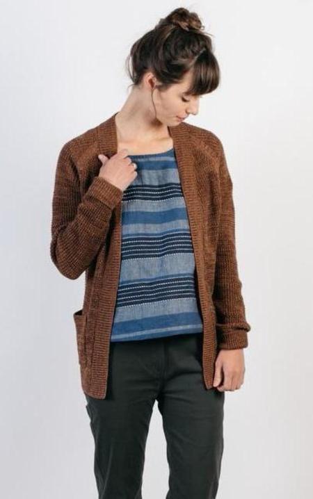 Bridge & Burn Lewis - Copper Marl Sweater