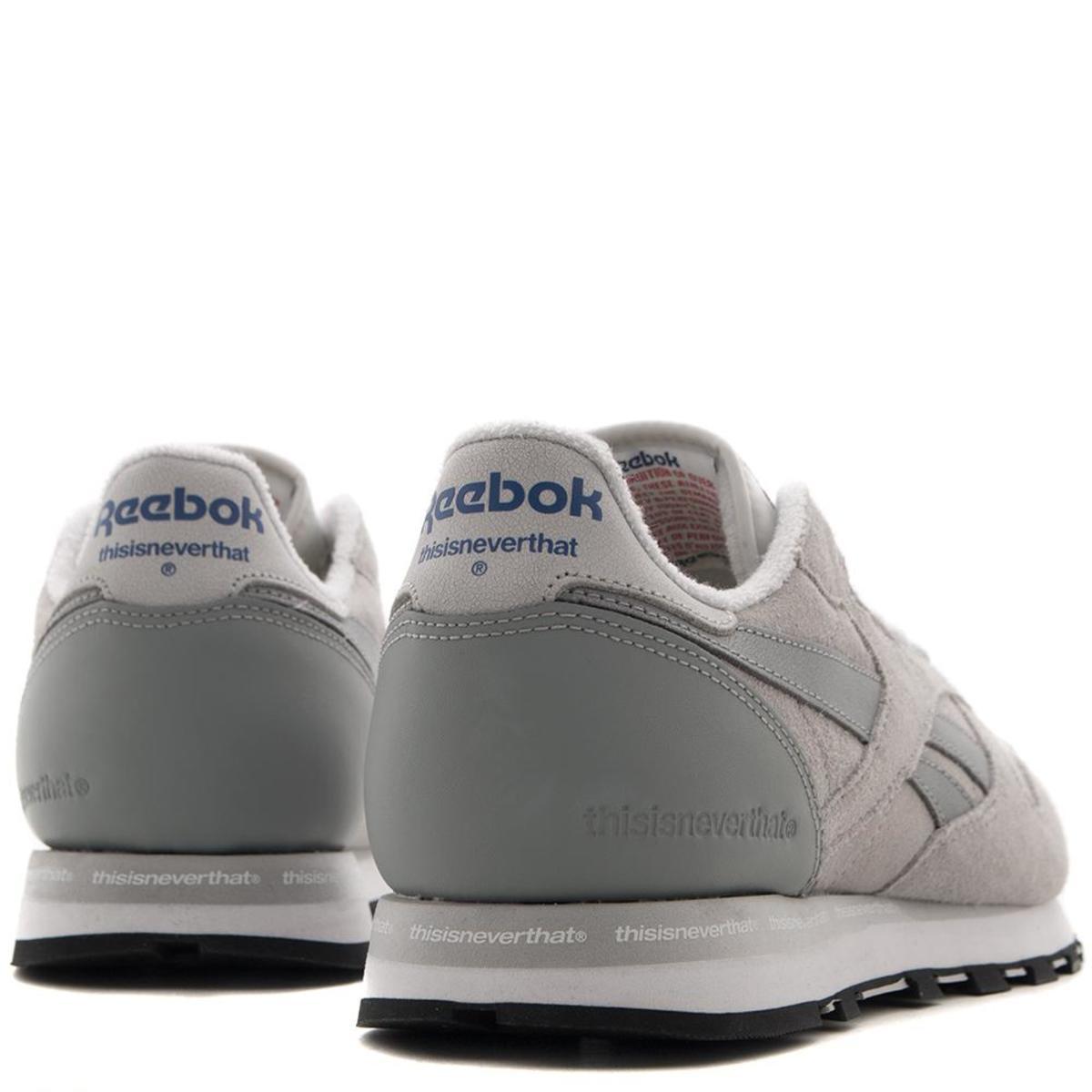 6353ecb2cb58 Reebok Affiliates x Thisisneverthat CL Leather - Steel