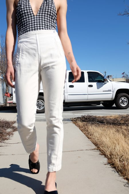 Rachel Comey Tether Pant Dirty White