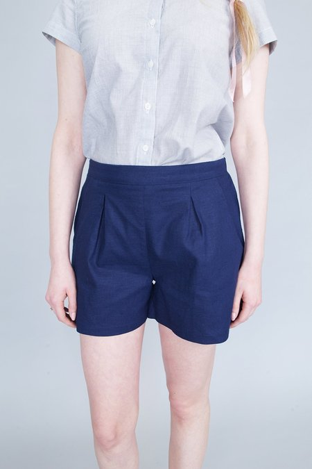 Jennifer Glasgow Keel Shorts Navy