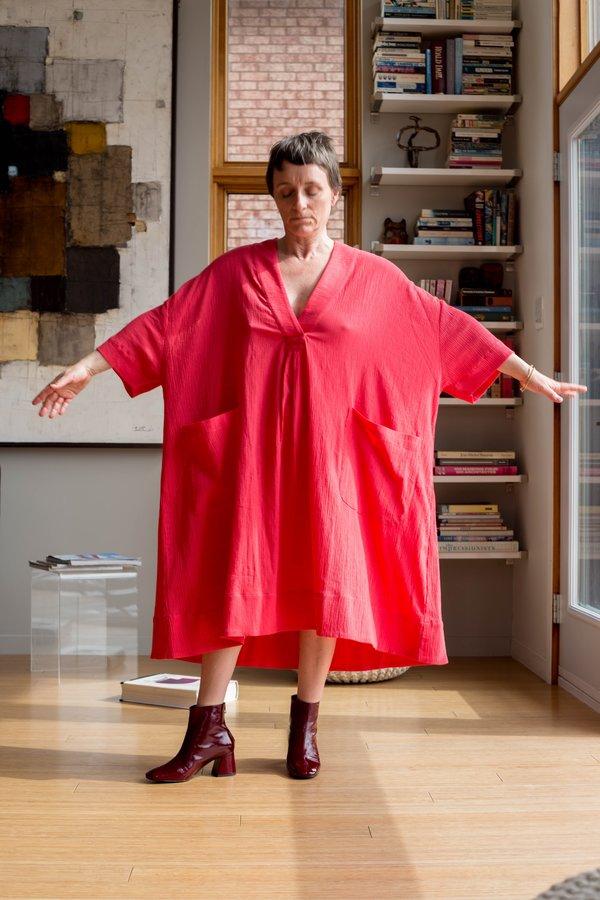 Sunja Link Pullover Dress - Pink