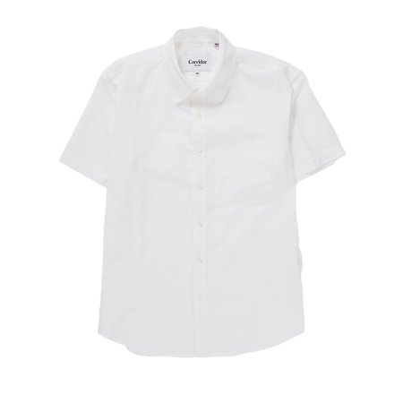 Corridor White Linen Short Sleeve