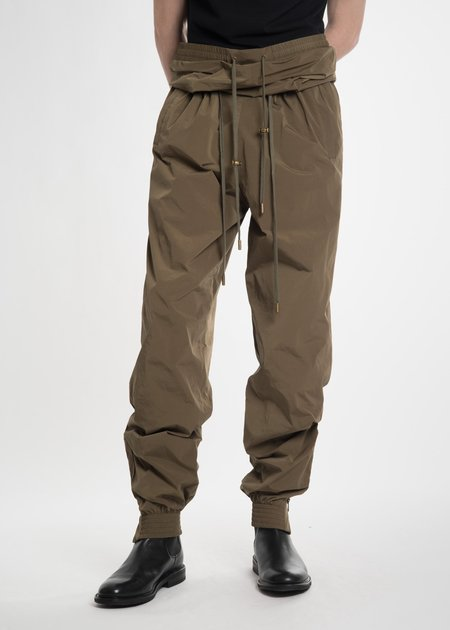 Y/project Olive Double Waist Track Pants