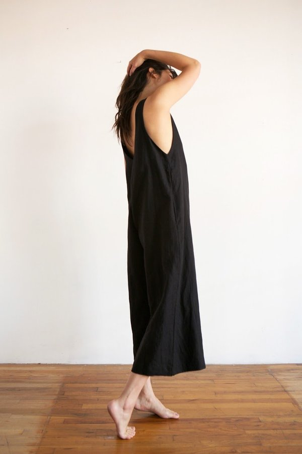 Ozma Vanessa Romper in Black