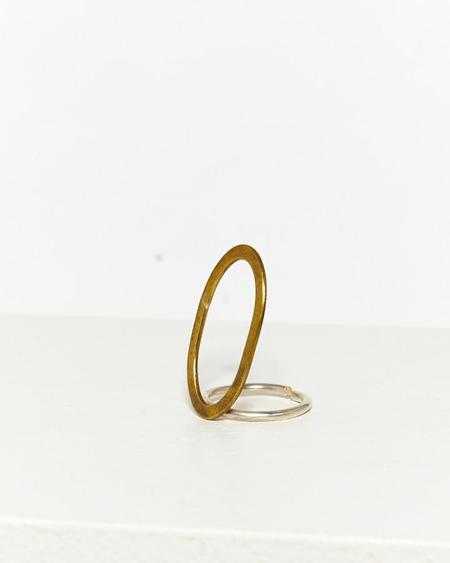RBC Round Brass Circle Ring