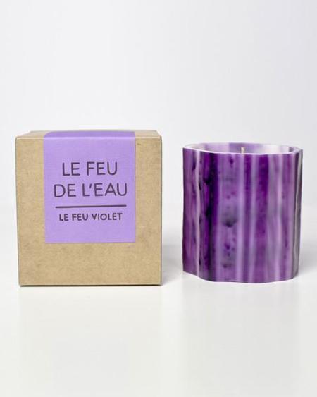 Le Feu De L'Eau Violet: Grapefruit & Tobacco
