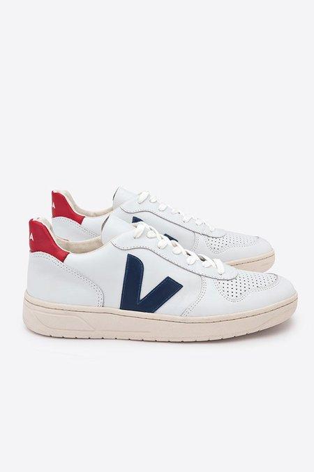 Veja V-10 - Extra White/Nautico Pekin