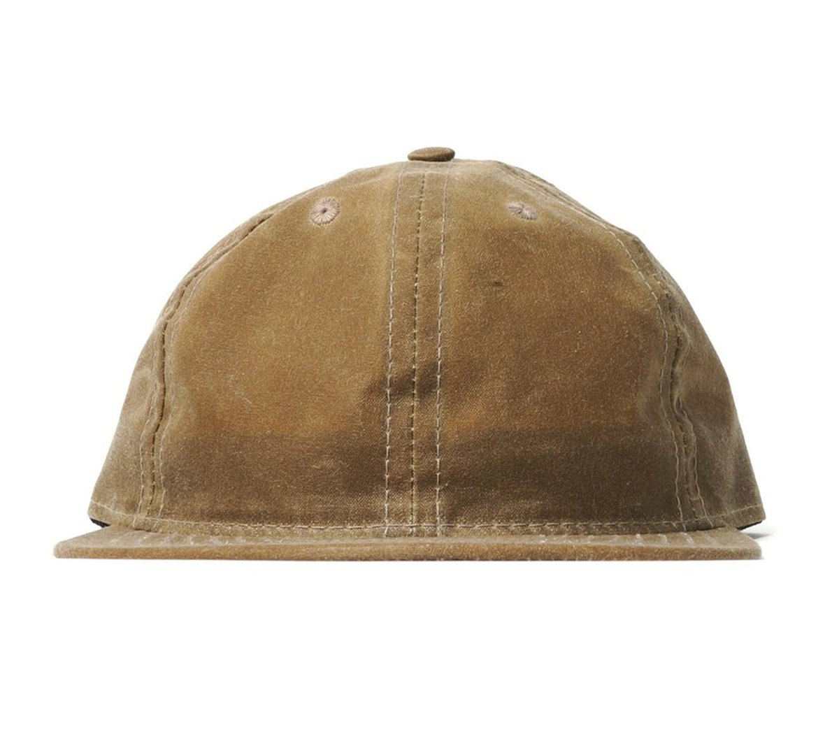 4c4035cd7a1 FairEnds Field Tan Waxed Cotton Ball Cap
