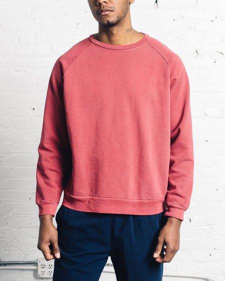 Olderbrother Classic Crew Sweatshirt - Hibiscus Punch