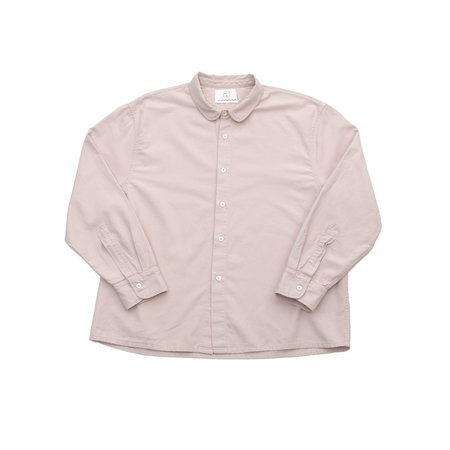 Olderbrother Anti-Fit Shirt - Pink Hibiscus