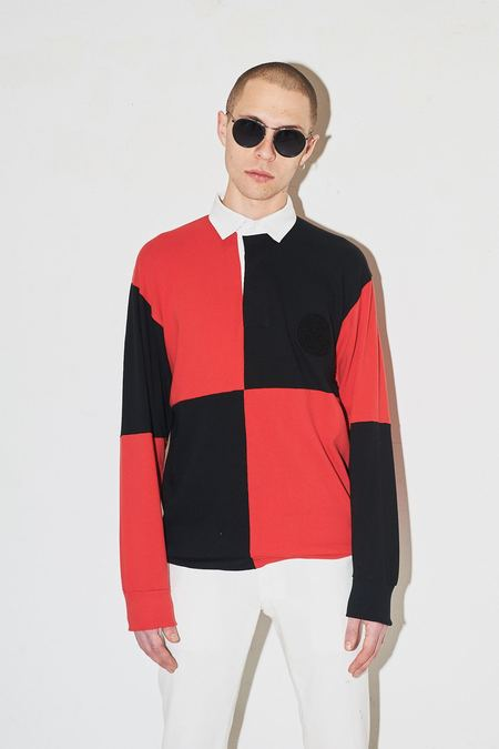 Assembly New York Rugby Polo - Red