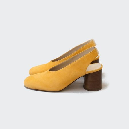Creatures of Comfort Daisy Shoe - Yellow Suede