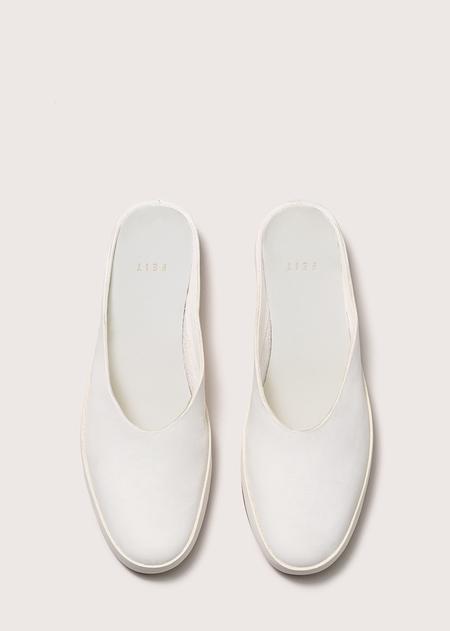Women's Ballet Mule - White