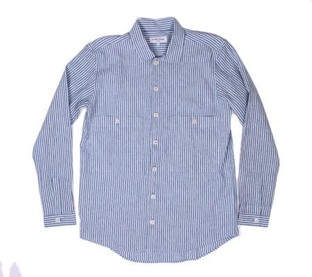 YMC Doc Savage Shirt - Blue