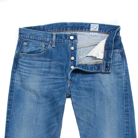 orSlow 105 Standard Fit Jean - Two Year Wash