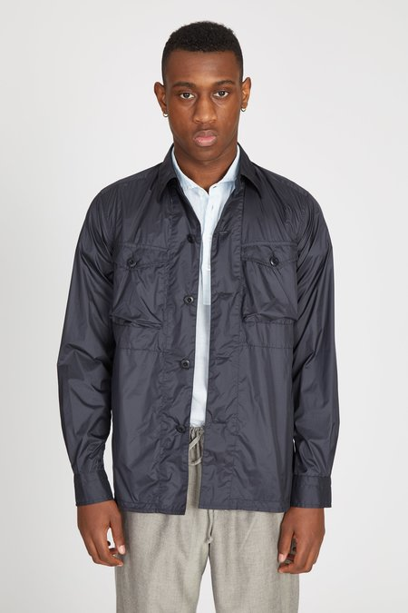 TS(S) Ultralight Taffeta Cloth CPO Shirt Jacket - Navy