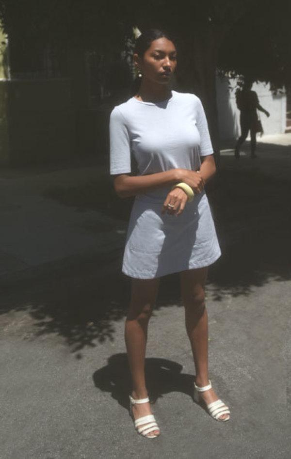 Waltz Twill Mini Skirt