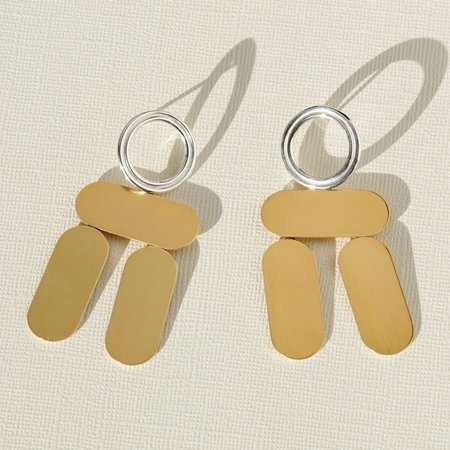 CLAIRE GREEN BALANCE EARRINGS