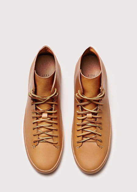 FEIT Hand Sewn High - Natural