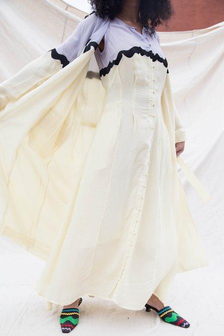 Nikki Chasin INGA DRESS - TARO LEMON