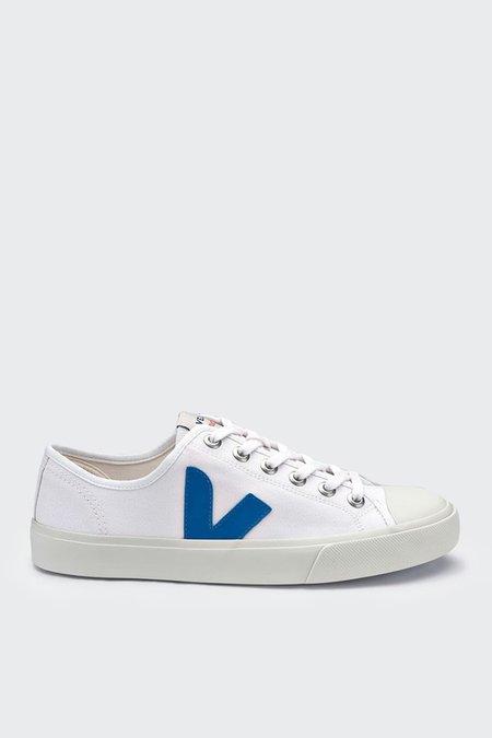 Unisex VEJA Wata Canvas - extra white/swedish blue