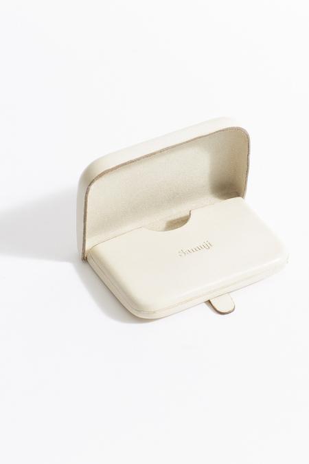 Samuji card purse - ivory