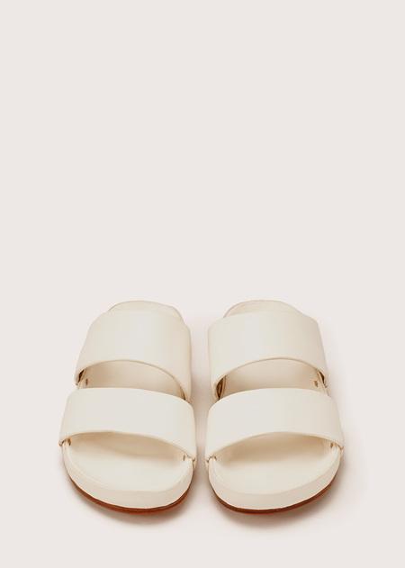 Unisex Hand Molded Sandal - White