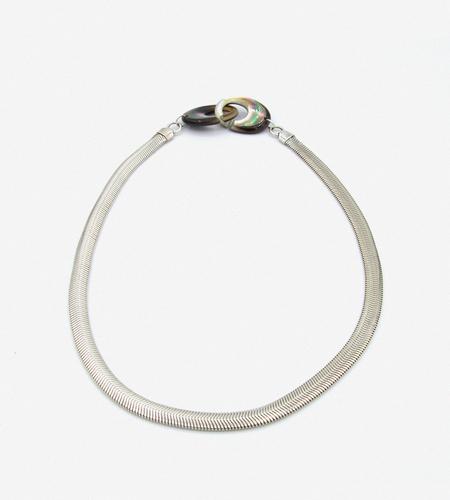 Luz Ortiz Pearl Python Necklace