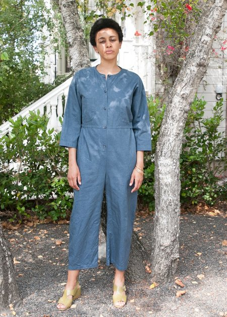 Gravel & Gold Nowe Jumpsuit - Blue Slate