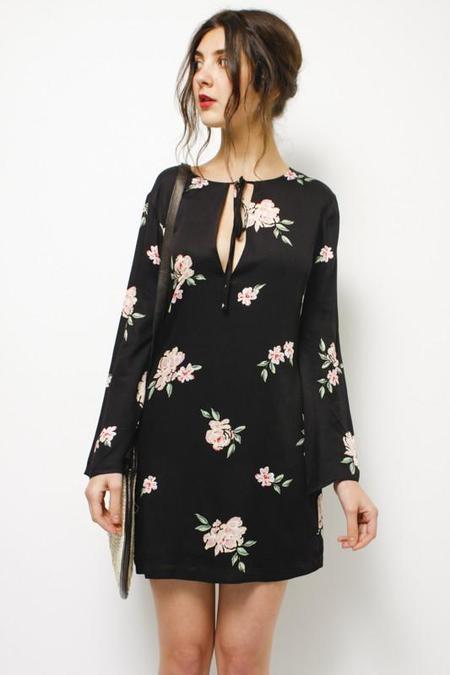 Capulet Charlotte Bell Sleeve Shift Dress
