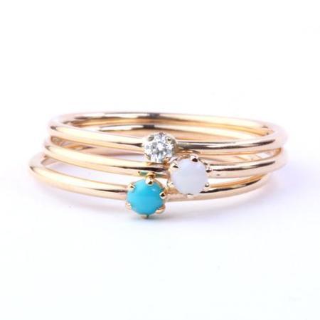Katie Diamond Diamond Goldie Ring
