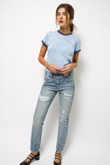 Levis Made & Crafted Vintage Levis 505 C Cropped