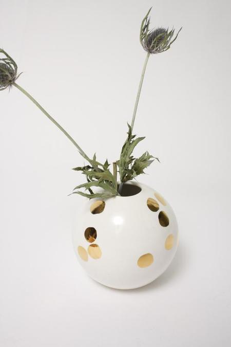 The Object Enthusiast Ball Vase - White