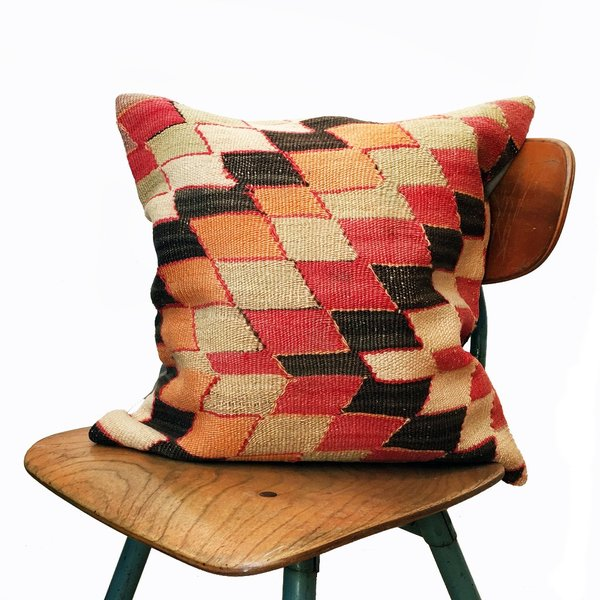 Valiente Goods Claire Vintage Kilim Pillow Cover