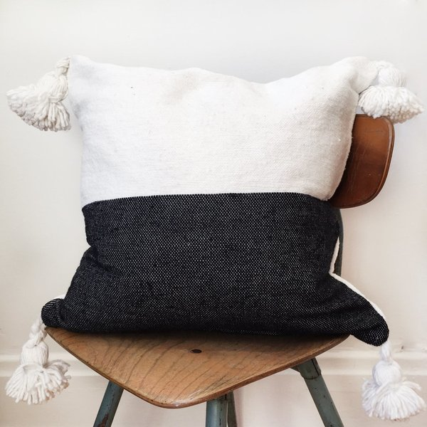 Valiente Goods Moroccan Pom Pillow No.01