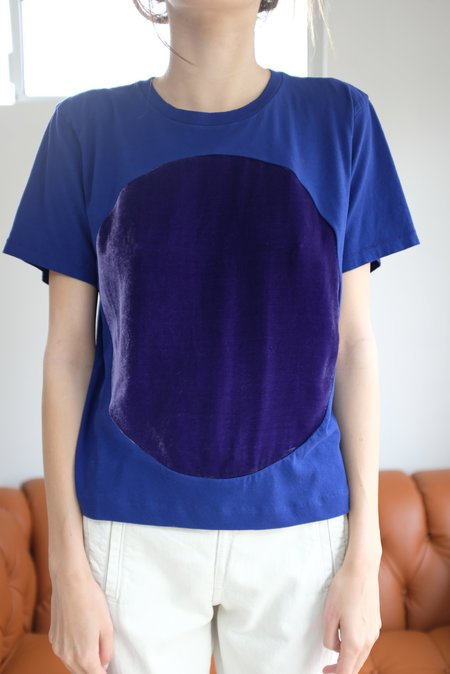 Correll Correll Velvet Circle T Shirt Purple
