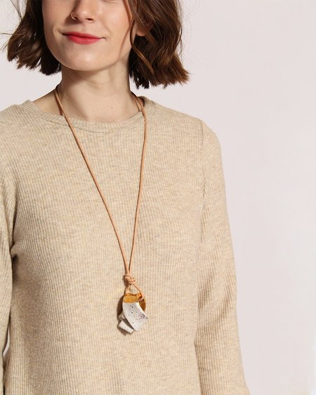 Oatmeal Shop x Small Talk Dipped Union Knot - Gold