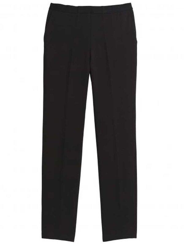 Hartford Pirouette Crop Trousers in Black