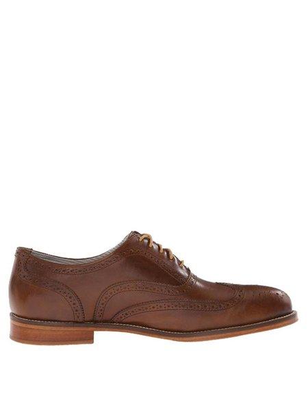 J Shoes Charlie Tan Brogue